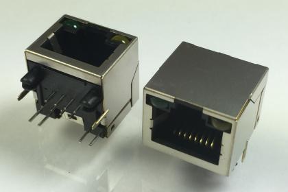 J099-S-8P8C-TH-LED
