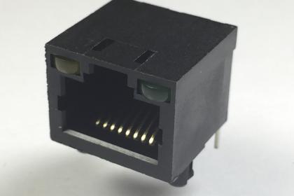 J099-8P8C-TH-LED